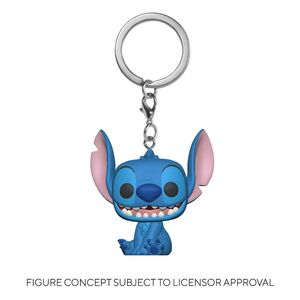 LILO & STITCH LLAVERO POCKET POP! VINYL STITCH 4 CM