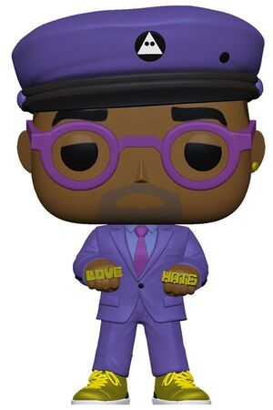 SPIKE LEE FIGURA POP! DIRECTORS VINYL SPIKE LEE (PURPLE SUIT) 9 CM