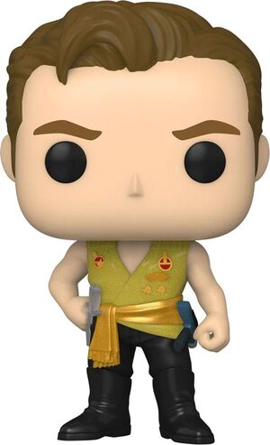 STAR TREK: THE ORIGINAL SERIES POP! TV VINYL FIGURA KIRK (MIRROR MIRROR OUTFIT) 9 CM