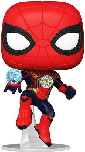 SPIDERMAN NO WAY HOME POP! VINYL FIGURA SPIDER-MAN (INTEGRATED SUIT) 9 CM