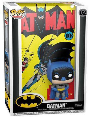 BATMAN POP! COMIC COVER VINYL FIGURA BATMAN 9 CM