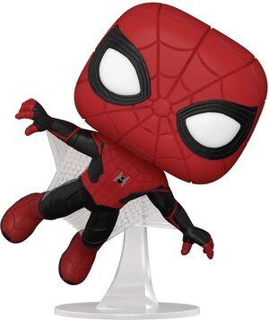 SPIDERMAN NO WAY HOME POP! VINYL FIGURA SPIDER-MAN (UPGRADED SUIT) 9 CM