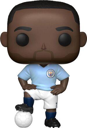 MANCHESTER CITY F.C. POP! FOOTBALL VINYL FIGURA RAHEEM STERLING 9 CM