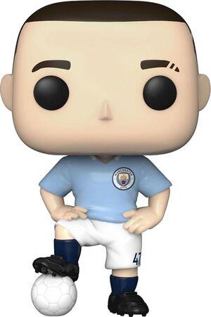 MANCHESTER CITY F.C. POP! FOOTBALL VINYL FIGURA PHIL FODEN 9 CM