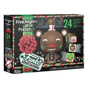 FIVE NIGHTS AT FREDDY'S POCKET POP! CALENDARIO DE ADVIENTO BLACKLIGHT