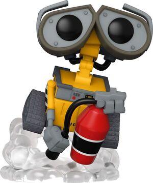 WALL-E FIGURA POP! MOVIES VINYL WALL-E CON EXTINTOR 9 CM