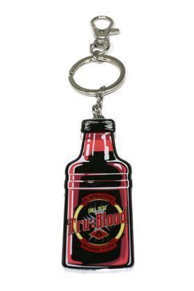 TRUE BLOOD BOTELLA LLAVERO 6 CM