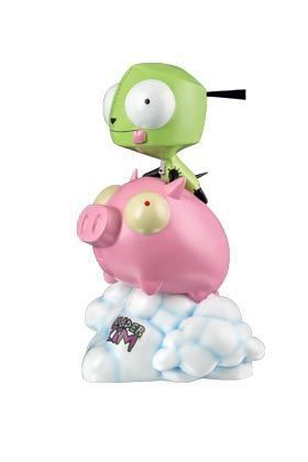 INVADER ZIM ESTATUA 23 CM GIR ON PIG