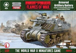 FOW ARMORED ARTILLERY BATTERY
