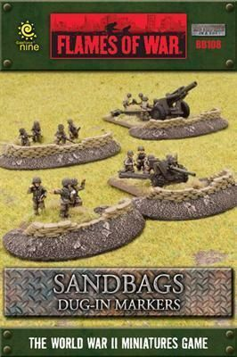 SANDBAGS EMPLACEMENTS