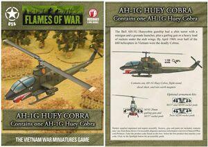 FOW AH-1G HUEY COBRA
