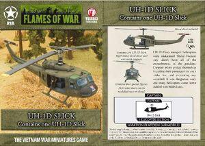 FOW UH-1D SLICK USA VIETNAM