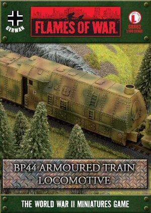 BP44 ARMOURED TRAIN LOCOMOTIVE