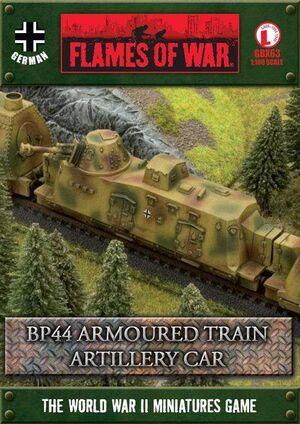 BP44 ARMOURED TRAIN ARTILLERY CAR