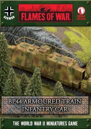 BP44 ARMOURED TRAIN INFANTRY CAR