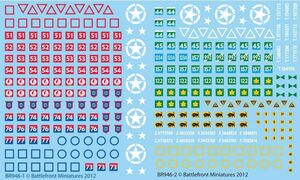 FOW LATE-WAR BRITISH DECAL PACK