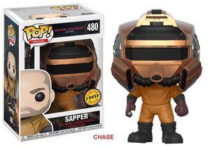 BLADE RUNNER FIGURA 9 CM SAPPER VINYL POP CHASE EDITION