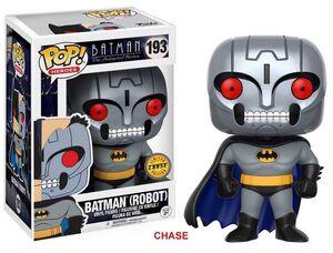 BATMAN THE ANIMATED SERIES FIGURA 9 CM BATMAN ROBOT CHASE EDITION VINYL POP