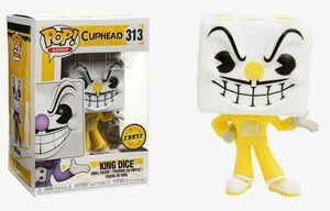 CUPHEAD FIGURA 9 CM KING DICE VINYL POP! CHASE EDITION FUNKO 313