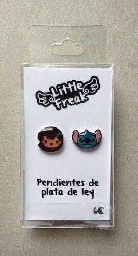 LITTLEFREAK. PAR PENDIENTES OHANA PERSONAJE 1 / CHICA 1