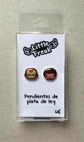 LITTLEFREAK. PAR PENDIENTES GUERRA MAQUINA / PERSONAJE 2