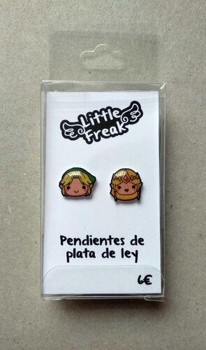 LITTLEFREAK. PAR PENDIENTES LEYENDA CHICO 2 / CHICA 2