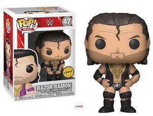 WWE WRESTLING FIGURA 9 CM RAZOR RAMON POP! FUNKO 47 (CHASE EDITION)