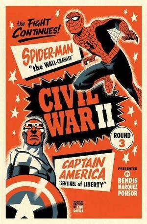 CIVIL WAR II #03 (PORTADA ALTERNATIVA)