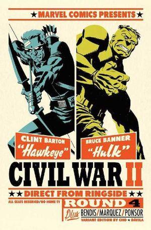 CIVIL WAR II #04 (PORTADA ALTERNATIVA)