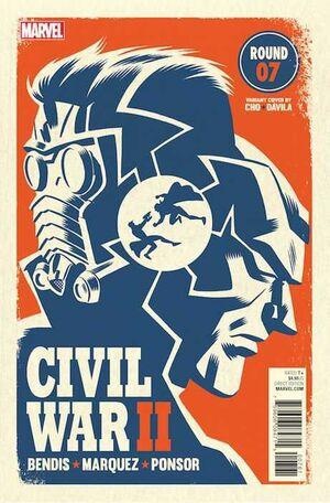 CIVIL WAR II #07 (PORTADA ALTERNATIVA)