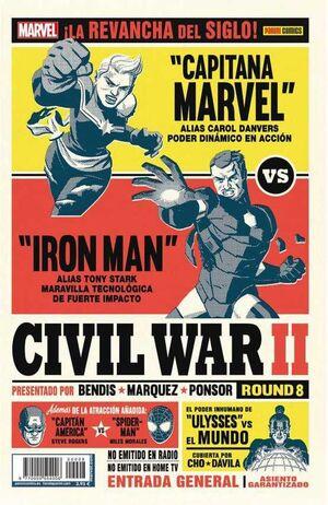 CIVIL WAR II #08 (PORTADA ALTERNATIVA)
