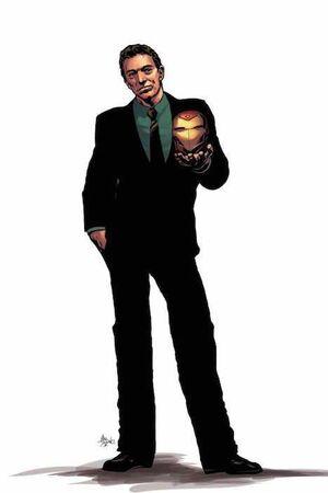 VICTOR VON MUERTE: IRON MAN #01 (PORTADA ALTERNATIVA)