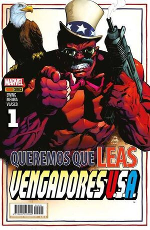 VENGADORES USA #01 (PORTADA ALTERNATIVA)