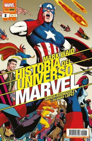 HISTORIA DEL UNIVERSO MARVEL #002 (EDICION ESPECIAL)