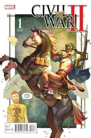 CIVIL WAR II #01 (PORTADA ALTERNATIVA 3)