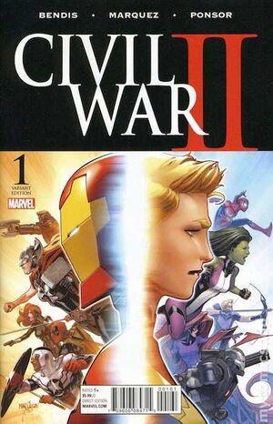CIVIL WAR II #01 (PORTADA ALTERNATIVA 4)
