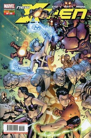 NEW X-MEN ACADEMY #025
