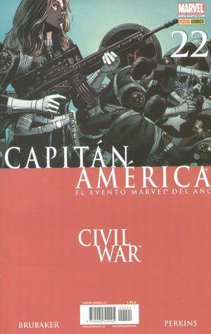 CAPITAN AMERICA #022