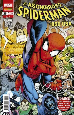 ASOMBROSO SPIDERMAN #174 / 025. #850 USA