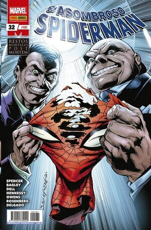 ASOMBROSO SPIDERMAN #181 / 032. RESTOS MORTALES: POST MORTEM 1 Y 2