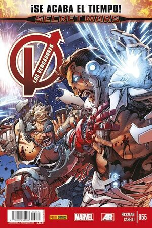LOS VENGADORES VOL 4 #55 (MARVEL NOW)