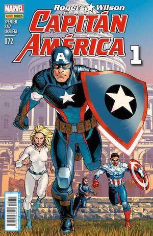 CAPITAN AMERICA: ROGERS / WILSON VOL.8 #72 (01)