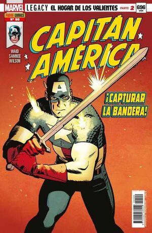 CAPITAN AMERICA VOL.8 #090 MARVEL LEGACY. EL HOGAR DE LOS VALIENTES 2