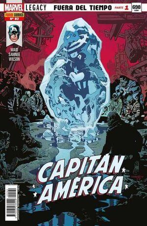 CAPITAN AMERICA VOL.8 #092 MARVEL LEGACY. FUERA DEL TIEMPO PARTE 1