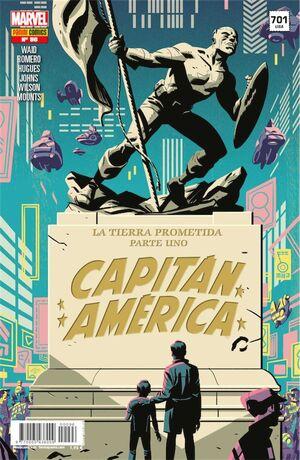 CAPITAN AMERICA VOL.8 #096 LA TIERRA PROMETIDA - PARTE 1