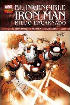 INVENCIBLE IRON MAN VOL 2 #015 (MIEDO ENCARNADO)