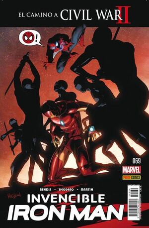 INVENCIBLE IRON MAN VOL 2 #069