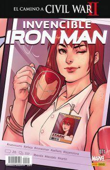 INVENCIBLE IRON MAN VOL 2 #071. EL CAMINO A CIVIL WAR II
