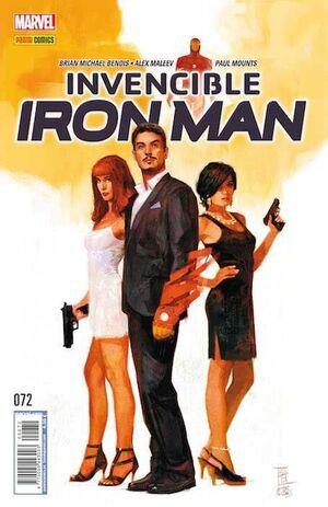 INVENCIBLE IRON MAN VOL 2 #072. EL CAMINO A CIVIL WAR II