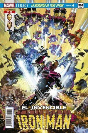 INVENCIBLE IRON MAN VOL 2 #090 MARVEL LEGACY. LA BUSQUEDA DE TONY STARK 4